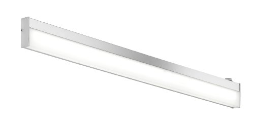Trio Leuchten LED-Bad-Wandleuchte Nilo Chrom, Acryl weiß, IP44 ...