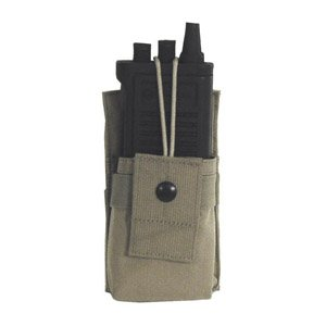 BLACKHAWK! S.T.R.I.K.E. Small Radio/GPS Pouch with Speed Clips, Coyote Tan