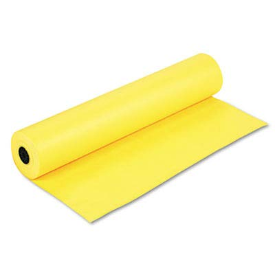 Pacon PAC63080 Colored Kraft Duo-Finish Paper, Canary, 36