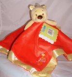 (Disney Baby Winnie The Pooh Soft Plushy Baby Nursery Safety Blanket; Winnie The Pooh)