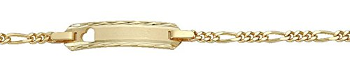 Bracelet ID en or jaune 585