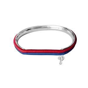 Littlearth MLB Philadelphia Phillies 600439-Philhair Tie Bangle, Multicolor, One -