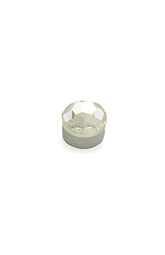 Magnetic Monroe Labret Nose Ear Stud Ring 3mm Clear stone ()