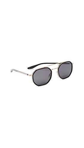 Barton Perreira Women's Themis Sunglasses, Black/Noir, One - Barton Perreira Sunglasses