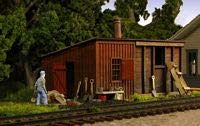 Buy ho scale shed