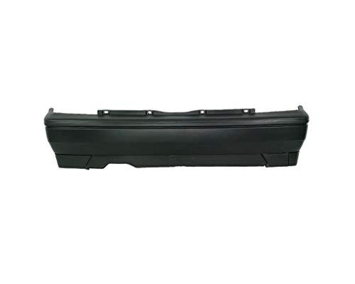 Bumper, rear bumper, black, from car parts: