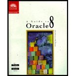 Guide to Oracle, Morrison, 0619015896