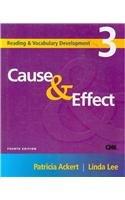 Cause & Effect (Reading & Vocabulary Development)