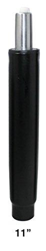 BiMi Muelle de Gas Recto para Silla de Oficina, 28 cm, Color Negro