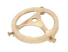 Brass Shade Holder Antique (B&P Lamp 2 1/4
