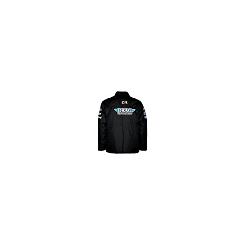 Throttle Threads Drag Specialties Shop Jacket , Size: 2XL, Size Modifier: 50-52in., Distinct Name: Black, Gender: Mens/Unisex, Primary Color: Black - Racing Men Drag For Jackets