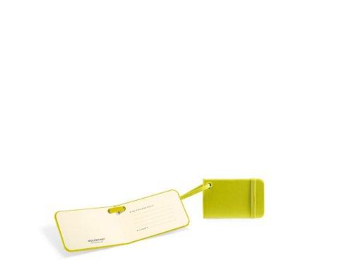 Moleskine Classic Luggage Tag, Lemon Green