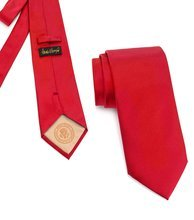 Donald J. Trump Signature Red Neck Tie with Presidential Seal by Presidential Gifts (Image #4)