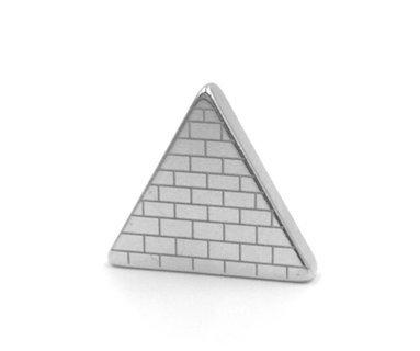 Tie Mags Conversation Starter, Silver, Magnetic Tie - Men Uncrate For