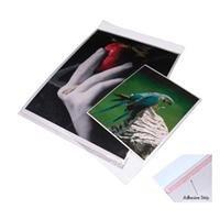 Printfile Crystal Clear Art Protectors Resealable Adhesive 13X19 - Printfile BOPP1319 by Print File