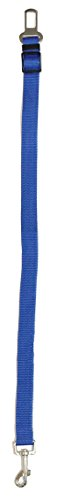 Blue Car Seat Belt Leash for Dog Safety Harness Universal Fitment