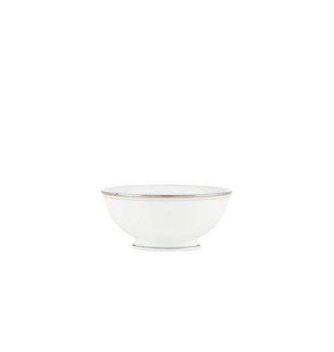 Lenox China Kate Spade Library Lane Platinum Fruit Bowl -