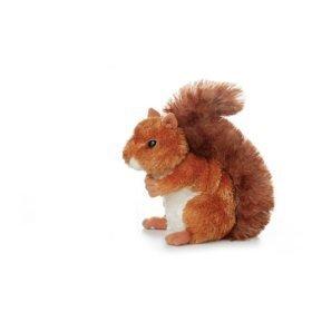 Aurora Plush Nutsie Brown Squirrel 6.5