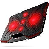 Best Accessory Power Laptop Cooler With Usb Ports - 5 Fans Laptop Cooler, Portable Ultra-Slim Cooling Pad Review