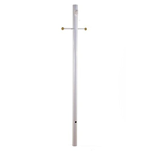 Outdoor Lamp Post With Outlet And Photocell - 7