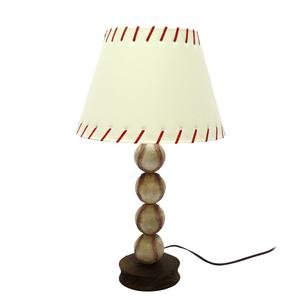 "DEI Stacked Baseball Lamp, 23"" Height"