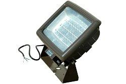 90 Watt LED Wall Pack Light - 400W Metal Halide Equivalent - 30 LEDs - 50' Cord - 120-277V(-L6-20 Tw 400w 50' Cord