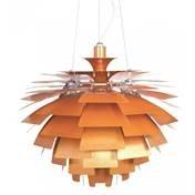 Artichoke Copper Pendant Light - 8