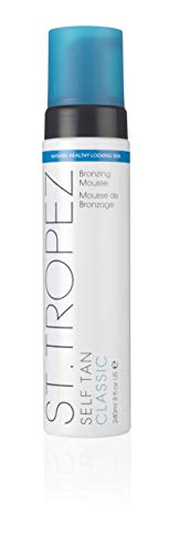 St. TROPEZ Self Tan Bronzing Mousse, 8 fl. - Lotion Shave Bottle