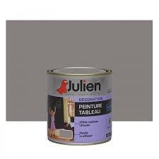 Julien Peinture Tableau Ardoise Gris Taupe 05 L Amazonfr Cuisine