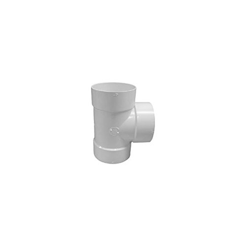 GENOVA PRODUCTS 41460 TEE PVC BULL NOSE 6IN Pack of 5