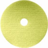 Lundmark Beige 20-Inch Floor Pad for High Speed Thermal Buffing and Burnishing up to 3000 RPM, TKL20BE