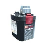 Max JP509H DC9.6-Volt NiMH Battery for RB650A Rebar Tying -
