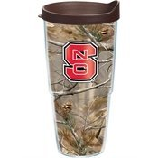 Tervis Tumbler North Carolina State Wolfpack Realtree Camo 24oz Wrap with Lid (Tervis Tumbler Wolf)