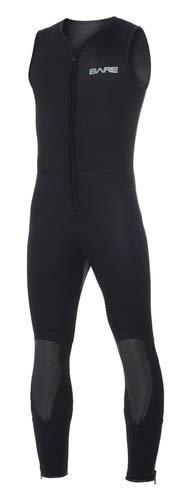 Bare 7mm Mens Sport John Style Front Zip Suit (2X-Large)