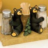 Salt Pepper Toothpick (Demdaco 30150059 Bear Salt & Pepper with Toothpick Holder, Multicolored)