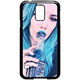 Bottle Durable Polycarbonate (Halsey Bottle Samsung Galaxy S5 Case (Black Plastic))