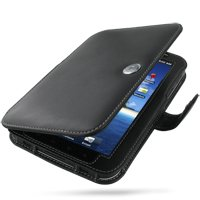Amazon.com: PDair Leather Case for Samsung Galaxy Tab GT-P1000 - Book