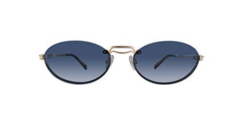 Max Mara MMBRIDGEII 000 Rose Gold MMBRIDGEII Oval Sunglasses Lens Category 3 ()