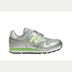NEW BALANCE 373 Silver/Green Scarpa Bimbi Inf 7i