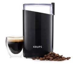 KRUPSNew! Krups F203 Electric Spice and Coffee Grinder with Stainless Steel Blades, 3-Ounce, Black