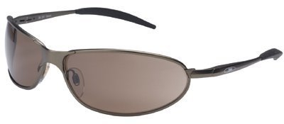 3M Metaliks 11555-00000-20 Bronze Polycarbonate Standard Safety Glasses - 99.9 % UV Protection - Full Frame - 70071543832 [PRICE is per EACH]