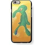 Old Bold and Brash squidward art for iPhone 6/6s Black case