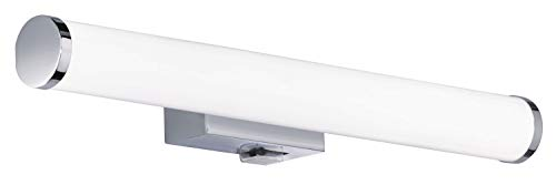 Trio Lighting Aplique decorativo moderno Mattimo, LED integrado 80% ahorro de energía, 4.3 W, Cromado