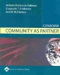 Canadian Community as Partner, Vollman, Ardene Robinson and Anderson, Elizabeth T., 0781741629