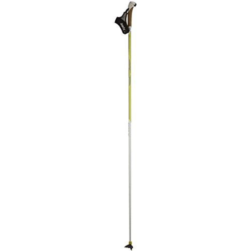 Swix Carbon TBS Ski Pole Yellow/White, 160cm by Swix