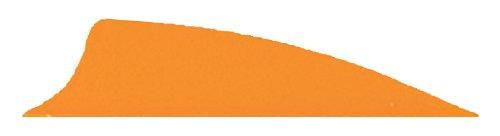 2 Vanes Blazer Bohning (Bohning 2.25-Inch Shield Cut X-Vanes (100-Pack), Neon Orange)
