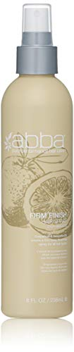 ABBA Firm Finish Hair Spray Clean Scent, 8.0 Oz