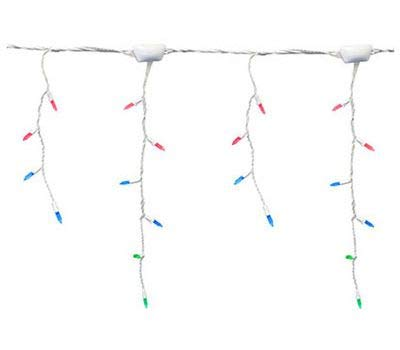 Sylvania 100 Ct LED Multi-color M7 Faceted Select Tech Icicle Light Set
