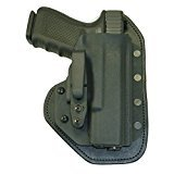 Hidden Hybrid Holsters, Smith Wesson M&P Shield 9MM/40SW, Single Clip IWB Carry Holster
