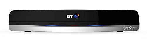 BT Youview+ Set Top Box (500Gb) Recorder with Twin HD Freeview and 7 Day Catch Up TV - no subscription (Renewed)